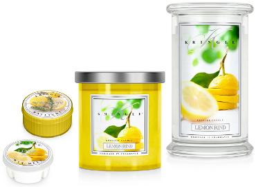 Lemon Rind von Kringle Candle - ist in der Schweiz erhältlich bei Creativa 1001 Geschenkideen in Aarau