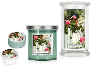Picket Fence von Kringle Candle - ist in der Schweiz erhältlich bei Creativa 1001 Geschenkideen in Aarau