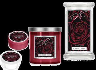 Kringle Candle Scarlet Rose ist in der Schweiz erhältlich bei Creativa 1001 Geschenkideen in Aarau