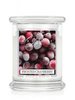 Kringle Candle Medium Classic Jar - 2 Docht - Frosted Cranberry