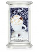 Kringle Candle Large Classic Jar -2 Docht - Cashmere & Cocoa