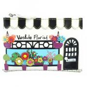 "Vendula London Zipper Coin Purse ""Florist"""
