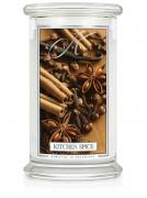 Kringle Candle Large Classic Jar -2 Docht - Kitchen Spice