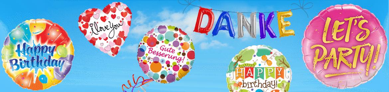Folienballone kaufe ich bei Creativa 1001 Geschenkideen in Aarau