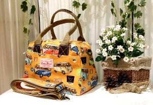 Candy Flowers Damenhandtasche by natura24.ch
