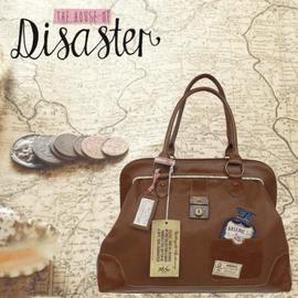 Handtaschen und Geldbörsen von Disaster Design sind im Creativa in Aarau erhältlich
