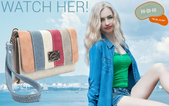 hi-di-hi Geldbörse oder Clutch - im Creativa in Aarau erhältlich