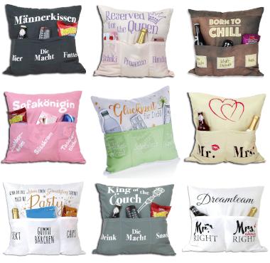 Sofahelden Kissen sind jetzt im Creativa erhältlich