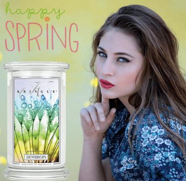 Kringle Candle Duftkerzen - die Frühlingsdüfte jetzt im Creativa in Aarau erhältlich