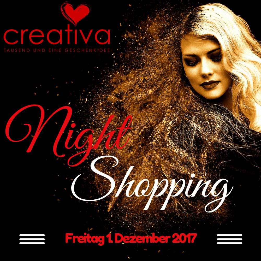 Night Shopping Aarau 2017 im Creativa an der Pelzgasse 7
