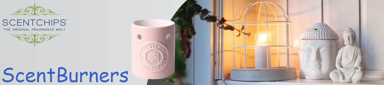 Scentburners sind Duftlampen von Scentchips für  Wachstarts und Duftöle