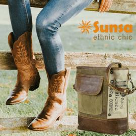 Sunsa Vintage Handtaschen sind im Creativa in Aarau erhältlich