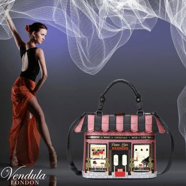 Damenhandtaschen von Vendula London sind jetzt im Creativa in Aarau erhältlich