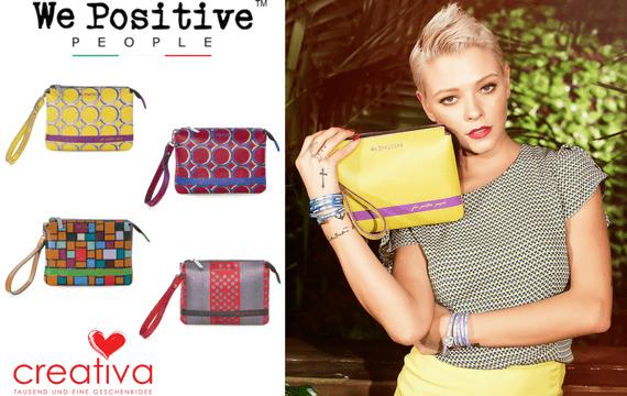 We Positive Damenhandtaschen aus echtem italienischem Leder - im Creativa in Aarau erhältlich