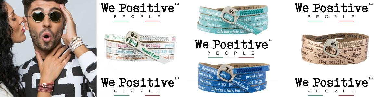 Freundschaftsband We Positive Vintage Collection - angesagte Trendfarben für jedes Outfit