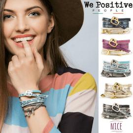 WePositive Armbänder und weitere positive Accessoires kaufe ich im Creativa in Aarau