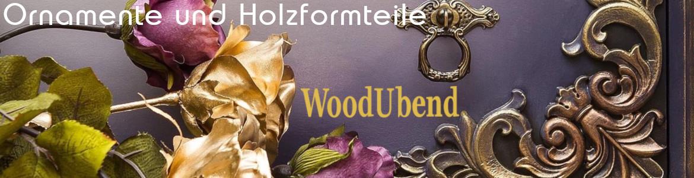 WoodUbend Holzornamente sind formbar und passen sich jedem Untergrund an