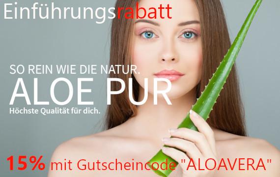 Aloe Vera Produkte für Deine Gesundheit