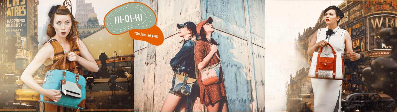 Hi-Di-Hi - so fun - so You!  Die Kulttaschen sind absolut angesagt - jetzt im Creativa in Aarau erhältlich
