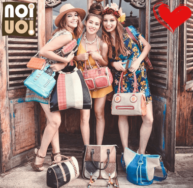 hi-di-hi und noi noi Handtaschen sind jetzt im Creativa in Aarau erhältlich