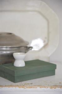 Vintage Paint Kreidefarbe nebliges Olivgrün von Jeanne d'Arc Living
