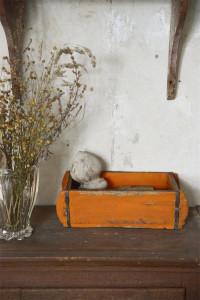 Vintage Paint Kreidefarbe Rusty Orange von Jeanne d'Arc Living
