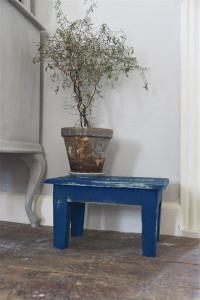 Vintage Paint Kreidefarbe Warm Blue von Jeanne d'Arc Living