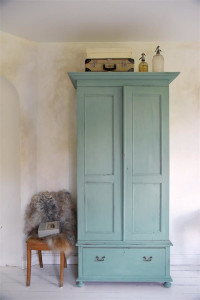 Vintage Paint Kreidefarbe Dusty Turquoise von Jeanne d'Arc Living